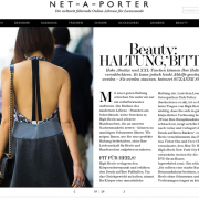 Online Magazin The Edit vom Online-Shop Net-à-Porter: Ein Beispiel für Content Marketing