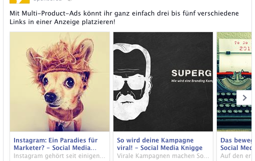 Multi-Product-Ad für den Desktop